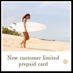 New customer Prepaid card