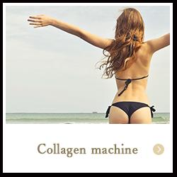 Esthetic collagen machine